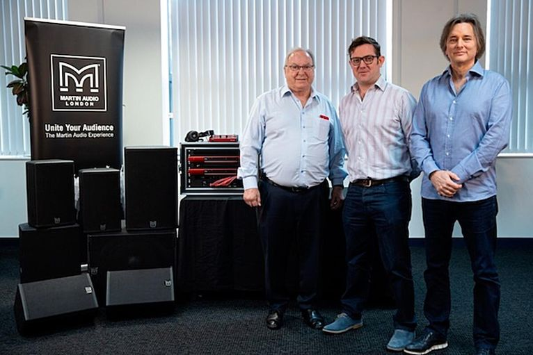 Focusrite Group Acquires Martin Audio