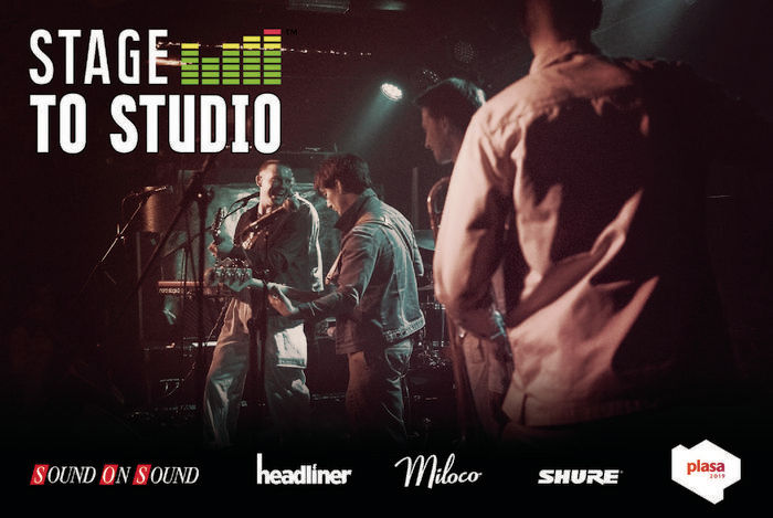 Stage To Studio: Recording A Live Band At Plasa