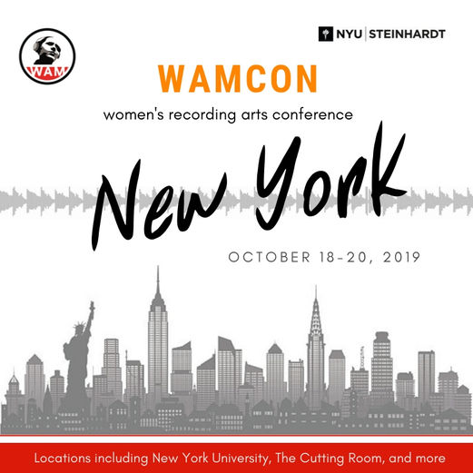 Women's Audio Mission Brings Sold Out WAMCon To New York