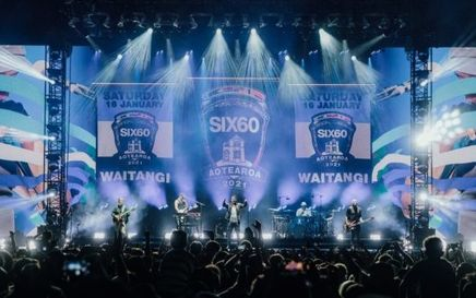 Six60 Play To 20,000 People In New Zealand