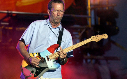 Eric Clapton at the Royal Albert Hall