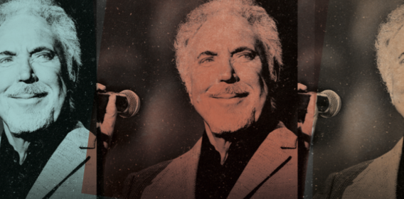 Sir Tom Jones: EXCLUSIVE